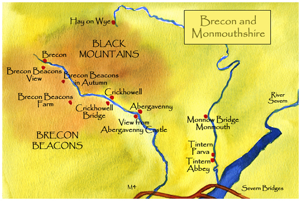 Brecon and Monmouthshire Paintings