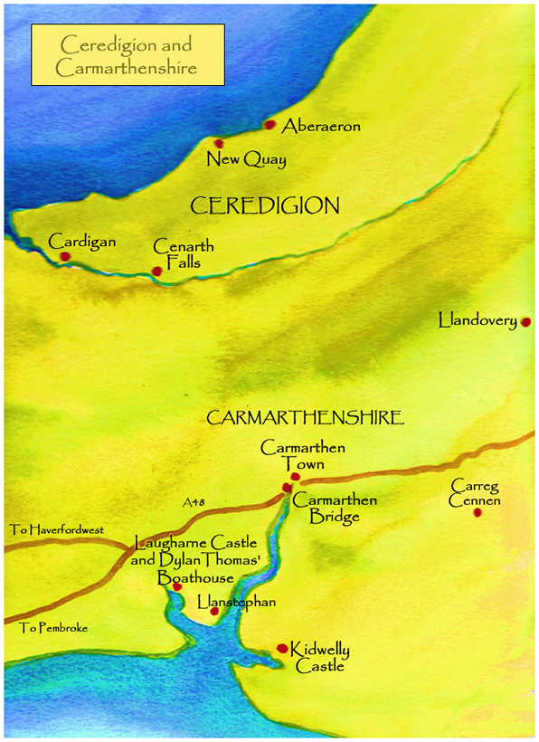 Ceredigion and Carmarthenshire Paintings